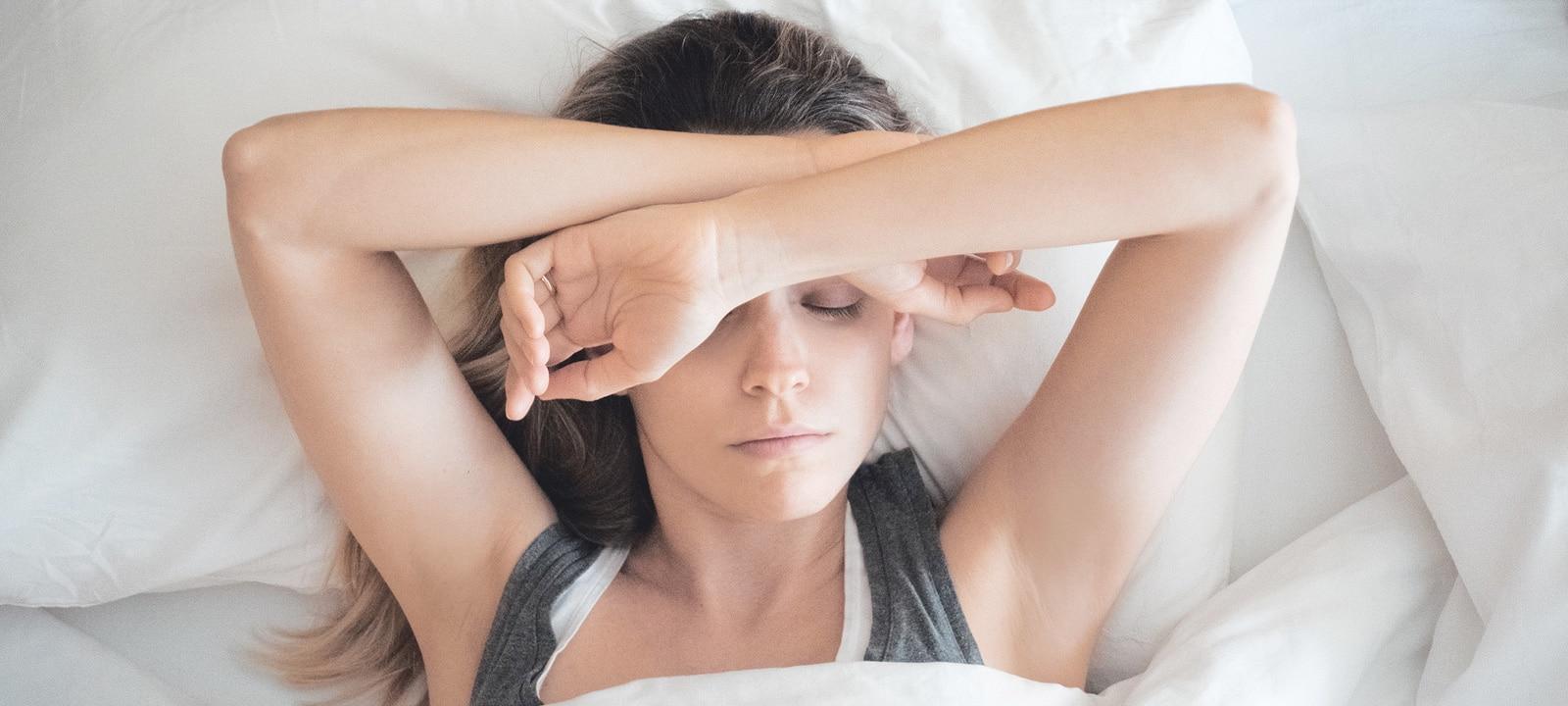 Slapen met stress? Gebruik deze tips voor een betere nachtrust